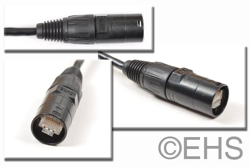 Cat 5 E Stranded Cable With Optional Ethercon 5ft Event