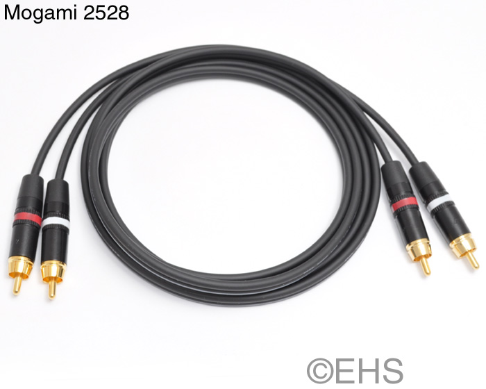 Mogami 2528 Dual RCA cable 4 Ft- Event Horizon & Services