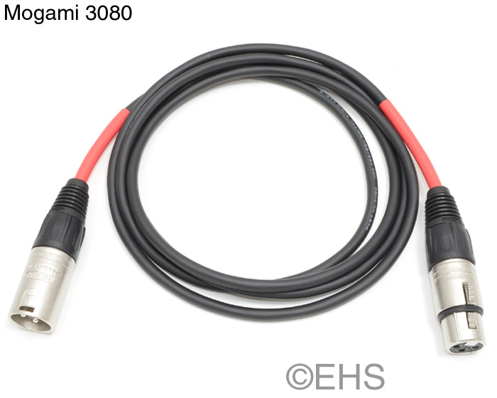 Mogami 3080- DMX 3 Pin Lighting Cable 50Ft- Event Horizon & Services