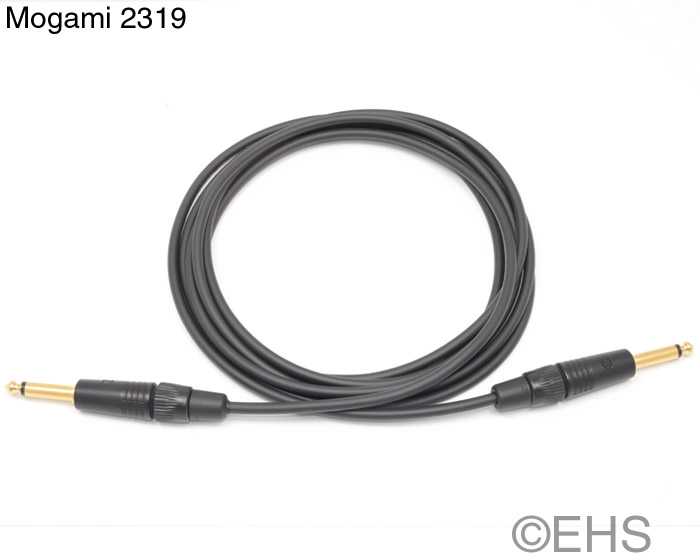 Mogami 2319 Unbalanced cable 1/4\