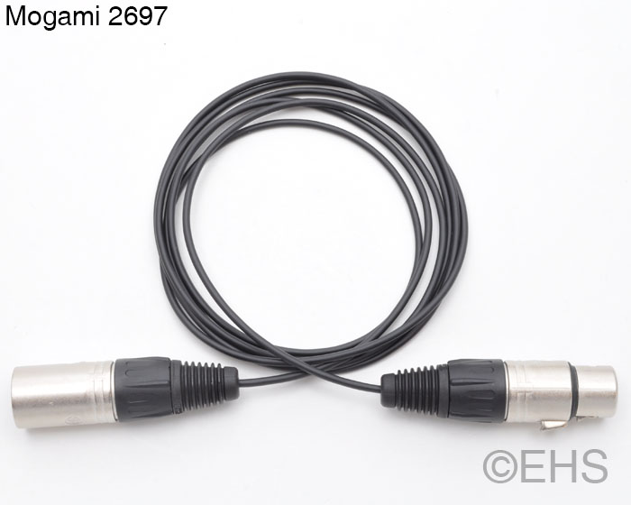 Mogami 2697 Thin Mic cable 8 Ft- Event Horizon & Services