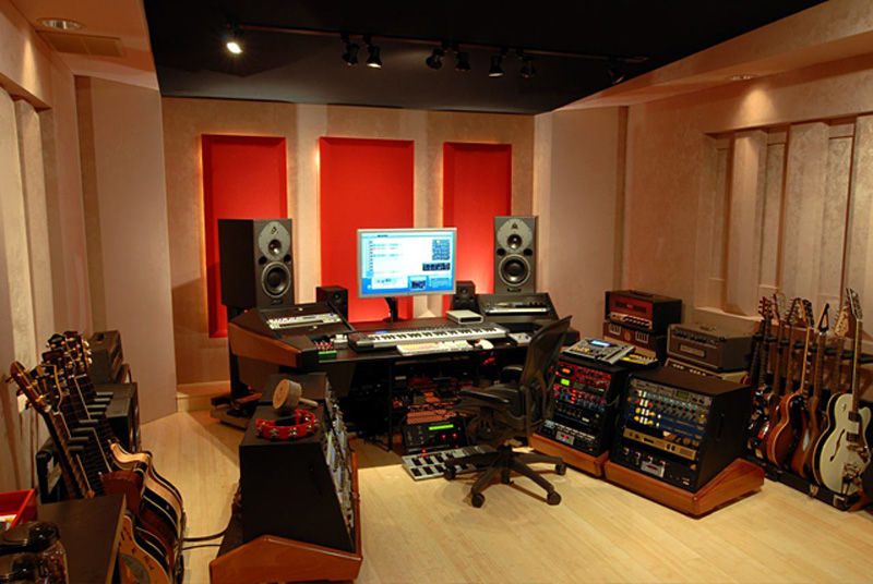 Event horizon services highlighting our great clients for Music home studio design ideas