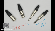 "Video about XLR and 1/4"" Connectors"